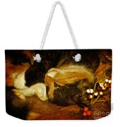 Cat Catnapping Weekender Tote Bag