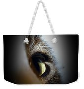 Cat Eye Weekender Tote Bag