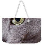 Cat Eye Weekender Tote Bag