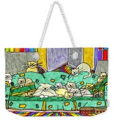 Cat Family - In The City Weekender Tote Bag
