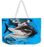 Abstract Cat Fish Weekender Tote Bag