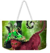 Cat In Fancy Witch Hat 2 Weekender Tote Bag