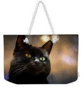 Cat In The Window Weekender Tote Bag