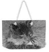 Cat - India Ink Effect Weekender Tote Bag
