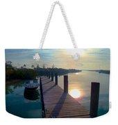 Cat Island Dock Weekender Tote Bag