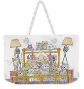 Cat Lady - In Bed Weekender Tote Bag