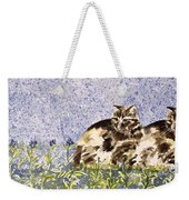 Cat Mint Wc On Paper Weekender Tote Bag