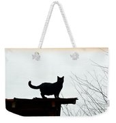 Cat On A Tin Roof 2 Weekender Tote Bag