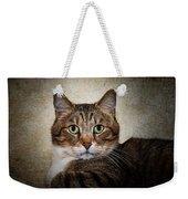 Cat Portrait Weekender Tote Bag