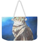 Cat Profile Weekender Tote Bag