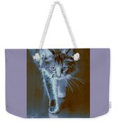 Cat Walking Weekender Tote Bag
