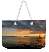 Catalina Island Sunset Weekender Tote Bag
