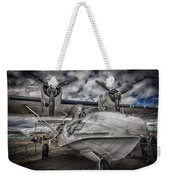 Catalina Pby-5a Miss Pick Up Hdr Weekender Tote Bag