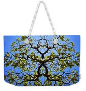 Catalpa Tree Weekender Tote Bag