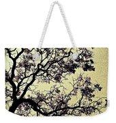 Catalpa Tree Gold Weekender Tote Bag