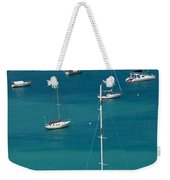 Catamaran  St Thomas Usvi Weekender Tote Bag