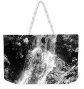 Cataract Falls Smoky Mountains Bw Weekender Tote Bag