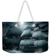 Catastrophic Collision  Weekender Tote Bag