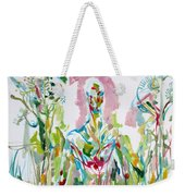 Catch Me - Lover And Follower-my Hearts Are Burning Weekender Tote Bag