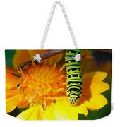 Caterpillar On The Prowl Weekender Tote Bag