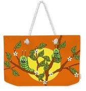 Caterpillars In The Orange Tree Weekender Tote Bag