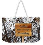 Catfish Crossing Weekender Tote Bag