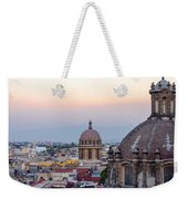 Cathedral Dome And City Weekender Tote Bag