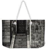 Cathedral Door And Steps Weekender Tote Bag