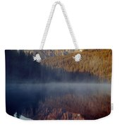 4m9304-cathedral Group Reflection, Tetons, Wy Weekender Tote Bag