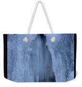 Cathedral Ice Waterfall Weekender Tote Bag