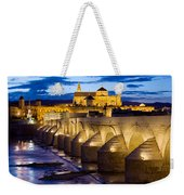 Cathedral Mosque And Roman Bridge In Cordoba Weekender Tote Bag