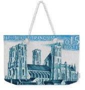 Cathedral Of Laon Weekender Tote Bag