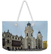 Cathedral Of Lima Weekender Tote Bag