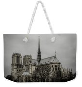 Cathedral Of Notre Dame De Paris Weekender Tote Bag by Marco Oliveira