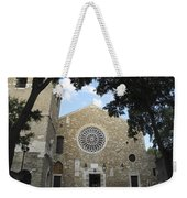 Cathedral Of San Giusto Weekender Tote Bag