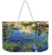Cathedral Reflection Weekender Tote Bag