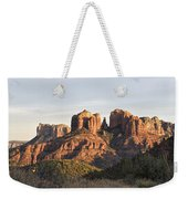 Cathedral Rock At Sunset Weekender Tote Bag