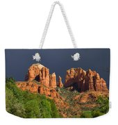 Cathedral Rock Before The Storm Weekender Tote Bag