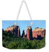 Cathedral Rock Behind The Forest Weekender Tote Bag