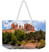 Cathedral Rock Weekender Tote Bag by Fred Larson