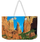 Cathedral Rock Moon Weekender Tote Bag