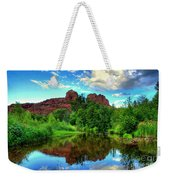 Cathedral Rocks At Red Rock Crossing Weekender Tote Bag