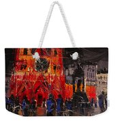 Cathedral Saint Jean-baptiste In Lyon Weekender Tote Bag