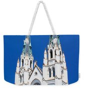 Cathedral, Savannah, Georgia Weekender Tote Bag