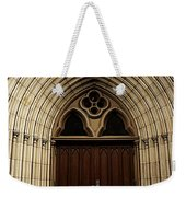 Catherdral Door's Weekender Tote Bag