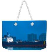 Catherine Desgagnes Downbound At Port Huron Weekender Tote Bag