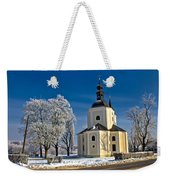 Catholic Church In Town Of Krizevci Weekender Tote Bag