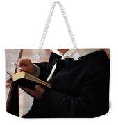 Catholic Priest Weekender Tote Bag
