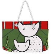 Cats 5 Weekender Tote Bag