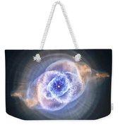 Cat's Eye Nebula Weekender Tote Bag